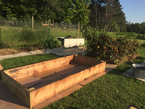 Raised Bed Construction