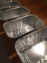 Mini Bread Tins for Head Cheese molds